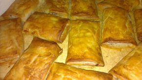 Снимка 2 от рецепта за Банички с ябълки, стафиди и фурми