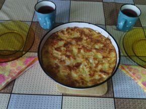 Снимка 3 от рецепта за Баница от хапки хляб