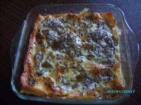 Снимка 6 от рецепта за Баница с ябълка и бяло вино