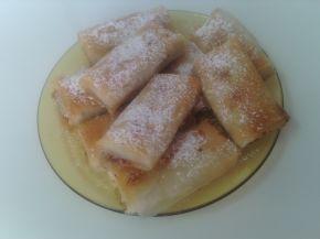 Снимка 3 от рецепта за Баница с ябълки, орехи, канела и локум