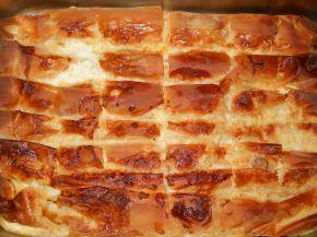 Снимка 4 от рецепта за Баница с кайма, гъби и сос Бешамел