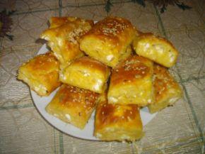 Снимка 4 от рецепта за Баница с царевично брашно и семена
