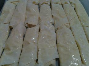 Снимка 2 от рецепта за Баница с царевично брашно - II вариант