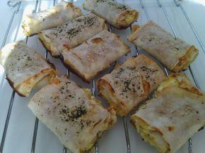Снимка 3 от рецепта за Банички с турски кори и ръсеница