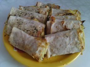 Снимка 4 от рецепта за Банички с турски кори и ръсеница
