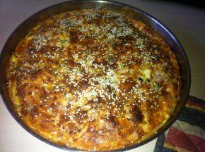 Снимка 2 от рецепта за Баница със сирене и маслини