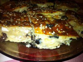 Снимка 3 от рецепта за Баница със сирене и маслини