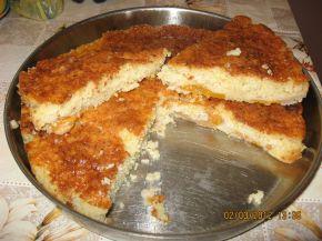 Снимка 2 от рецепта за Баница със сирене от хляб