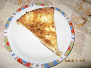 Снимка 5 от рецепта за Баница със сирене от хляб