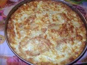 Снимка 8 от рецепта за Баница със сирене от хляб