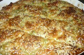 Снимка 2 от рецепта за Баница със спанак и сирене