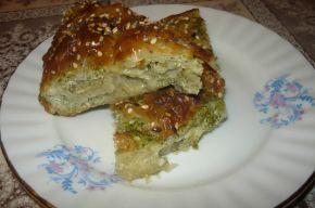 Снимка 3 от рецепта за Баница със спанак и сирене