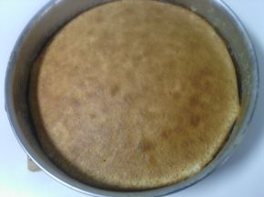 Снимка 4 от рецепта за Бял сладкиш със златни стафиди