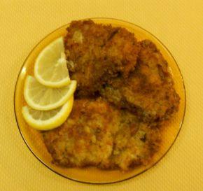 Снимка 2 от рецепта за Бяла риба с кашкавалена панировка