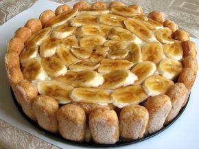 Снимка 3 от рецепта за Бишкотена торта с банани