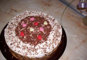 Снимка 3 от рецепта за Бишкотена торта