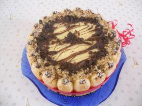 Снимка 2 от рецепта за Бишкотена ванилова торта с банани