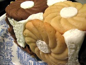 Снимка 1 от рецепта за Бисквитена торта Еверест