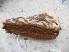Снимка 3 от рецепта за Бисквитена торта `Ден и нощ`