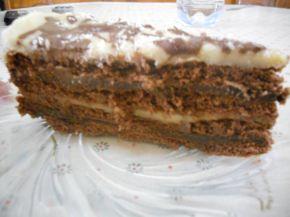 Снимка 4 от рецепта за Бисквитена торта `Ден и нощ`