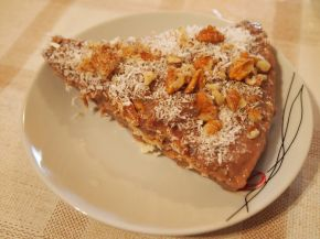 Снимка 3 от рецепта за Бисквитена торта с ягодов нюанс