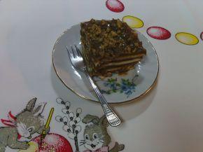 Снимка 6 от рецепта за Бисквитена торта с какаов крем