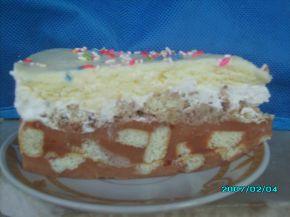 Снимка 2 от рецепта за Бисквитена торта