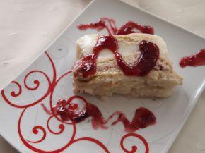 Снимка 8 от рецепта за Бисквитено-малинова феерия
