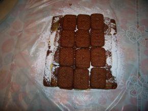 Снимка 2 от рецепта за Бисквитено руло