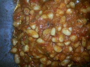 Снимка 3 от рецепта за Бобена салата с червени чушки