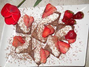 Снимка 2 от рецепта за Брауни `Ягодово изкушение`