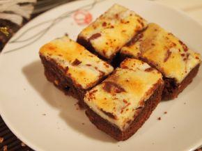 Снимка 3 от рецепта за Брауни с крем сирене