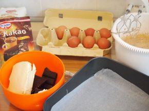 Снимка 3 от рецепта за Брауни с къпини