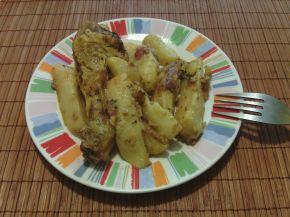 Снимка 2 от рецепта за Бутчета с картофи, вино и розмарин