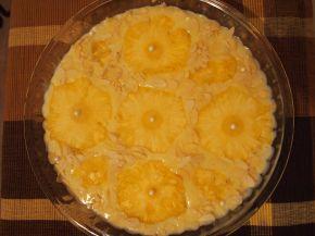 Снимка 4 от рецепта за Бърз и лек десерт с ананас и бадеми