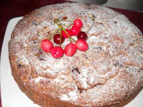 Снимка 2 от рецепта за Бърз сладкиш с череши
