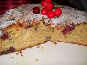 Снимка 3 от рецепта за Бърз сладкиш с череши