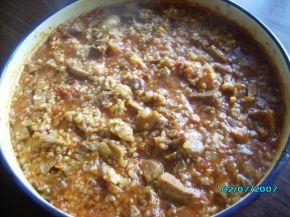 Снимка 2 от рецепта за Бърз винен кебап на фурна