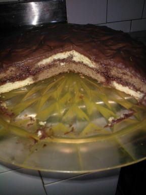 Снимка 2 от рецепта за Бърза шоколадова торта