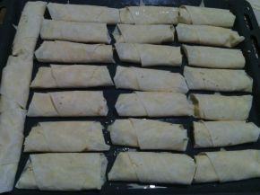 Снимка 4 от рецепта за Бързи банички с готови кори