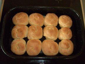 Снимка 3 от рецепта за Бързи хлебчета със сирене