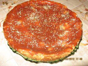 Снимка 2 от рецепта за Чийзкейк с хляб и сладко от дюли