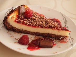 Снимка 4 от рецепта за Чийзкейк с пресни малини