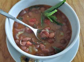 Снимка 2 от рецепта за Чорба от червен фасул