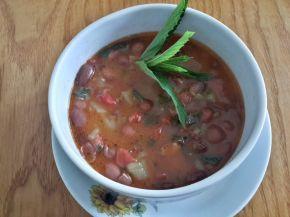 Снимка 3 от рецепта за Чорба от червен фасул