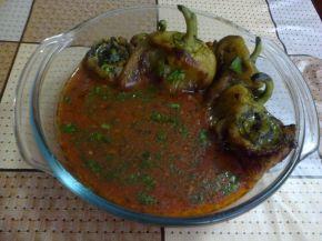 Снимка 4 от рецепта за Чушки с доматен сос