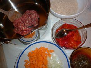 Снимка 2 от рецепта за Чушки с кайма и ориз