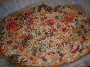 Снимка 5 от рецепта за Чушки с кайма и ориз