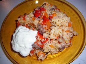 Снимка 6 от рецепта за Чушки с кайма и ориз
