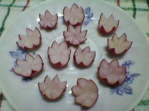 Снимка 7 от рецепта за Цветя от репички